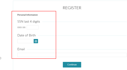 image of registration process